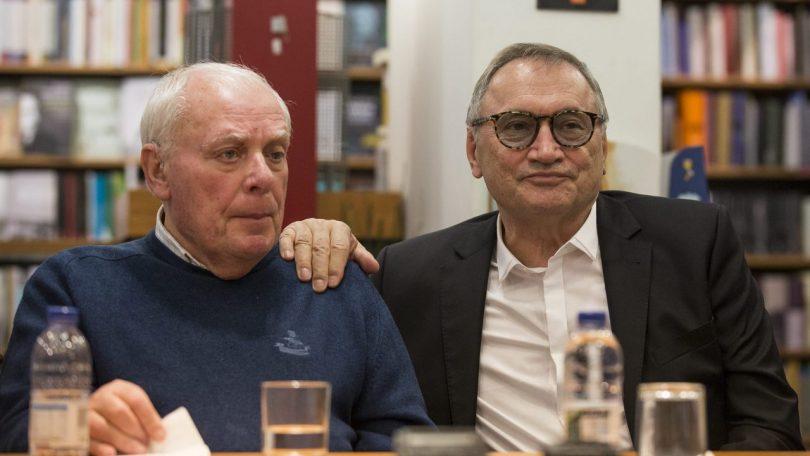 António Lobo Antunes și Dinu Flămând