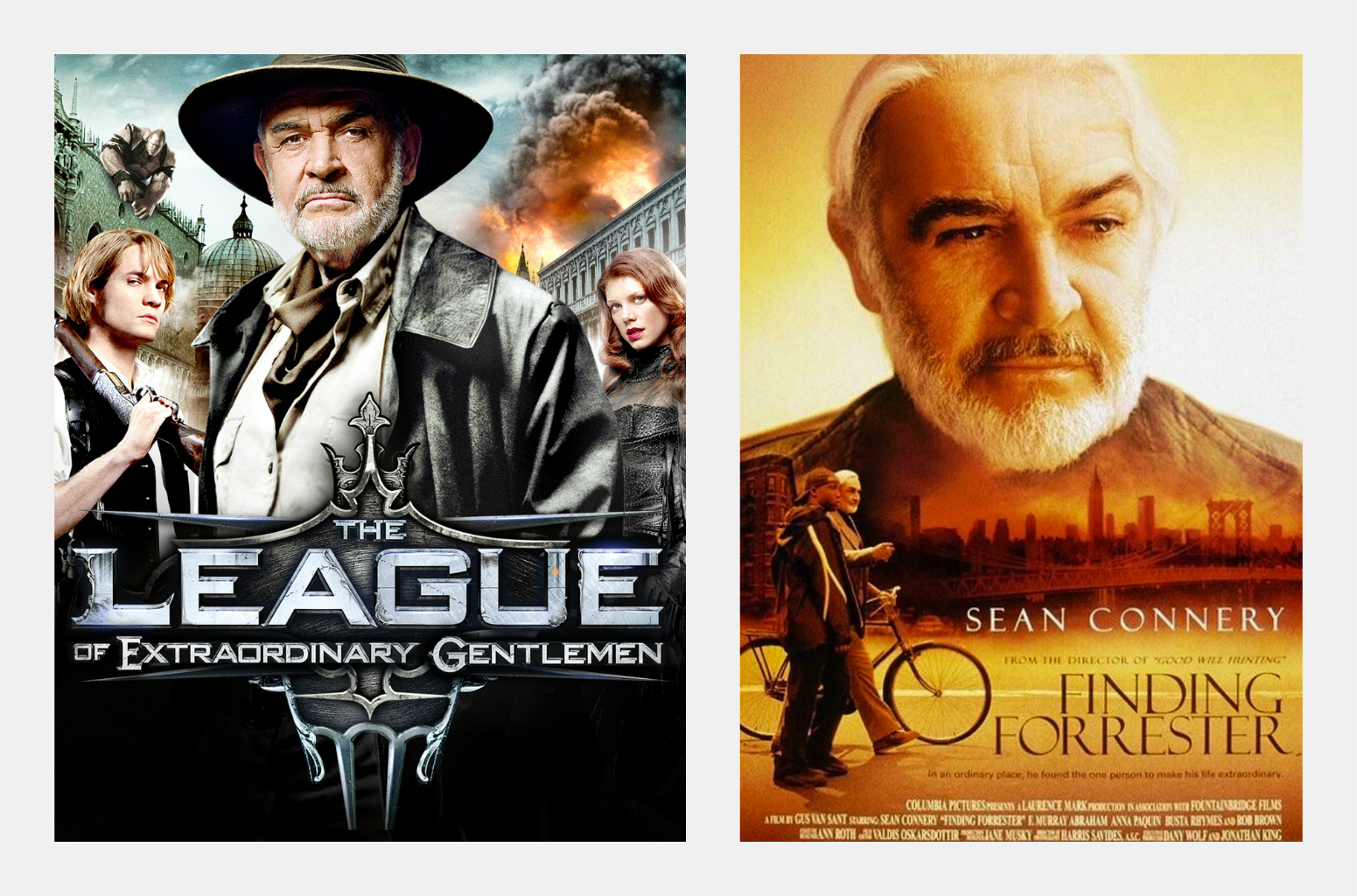 """Reach content for Google search """"Sean Connery"""" and """"Finding Forrester"""""""