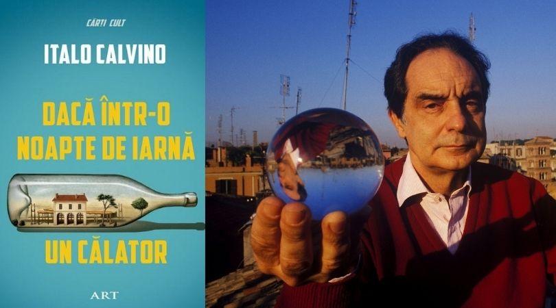 """Reach content for Goolge search """"italo calvino"""", """"daca intr-o noapte de iarna un calator"""", """"italo calvino carti"""""""